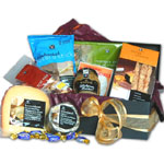 Cheese and Crackers Gourmet Basket